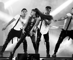 black and white, clothes, and dancers image