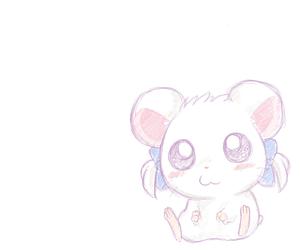 anime, cute, and hamtaro image