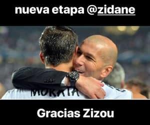 real madrid, zinedine zidane, and alvaro morata image