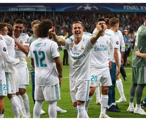 lucas vazquez, bae, and real madrid image