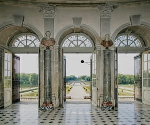 academy, doors, and hall image
