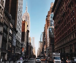 city, new york, and place image