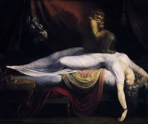 art, nightmare, and henry fuseli image