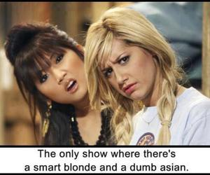 funny, blonde, and asian image