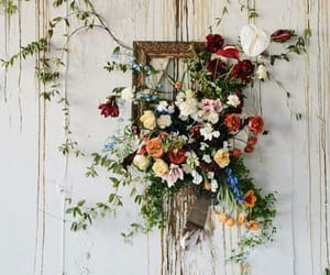 flowers, rustic, and shabby chic image