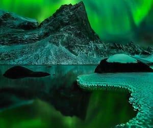 aurora boreal, belleza, and naturaleza image