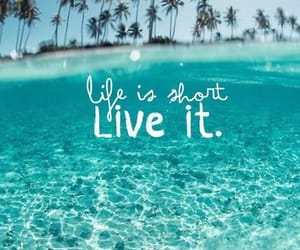 live, sea, and love image