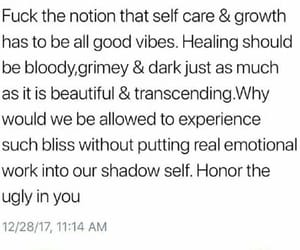 growing up, healing, and honesty image