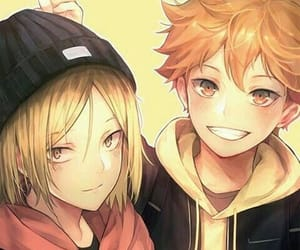 kozume kenma, shouyou hinata, and anime boys image