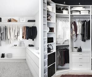 blacknwhite, closet, and gorgeous image
