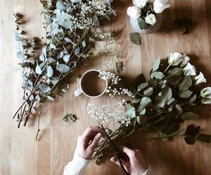 aesthetic, flowers, and indie image