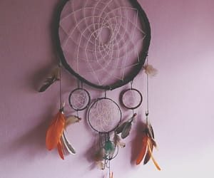 boho, brown, and dreamcatcher image
