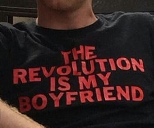 shirt, quotes, and red image