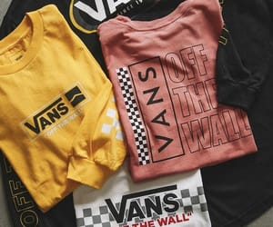 vans, black, and pink image