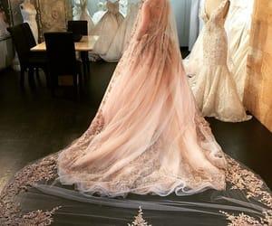 bride, fantasy, and dress image