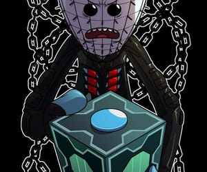 rick and morty and hellraiser image