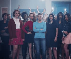 gif, veronica, and riverdale image