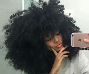 hair, Afro, and beauty image