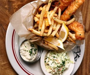 food, fish, and chips image