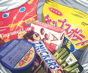 anime, food, and snack image