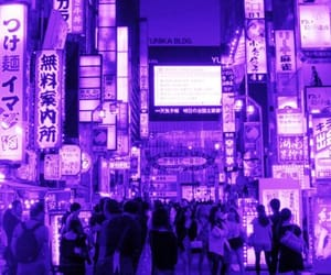 purple, aesthetic, and asia image