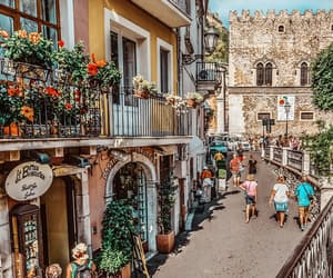 Houses, italy, and travel image