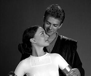 star wars, padme amidala, and Anakin Skywalker image