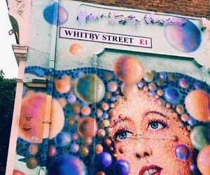 london, shoreditch, and love image