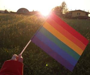 equal rights, pride, and rainbow image