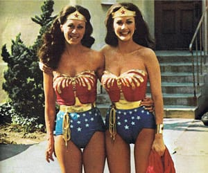DC, justice league, and Lynda Carter image