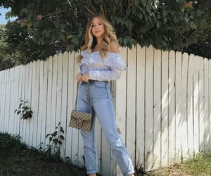 accesories, denim, and fashion image