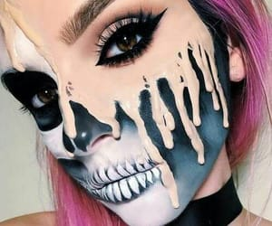 Halloween, makeup, and style image