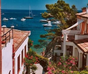 sea, summer, and spain image