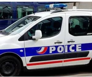 france, police, and voiture image
