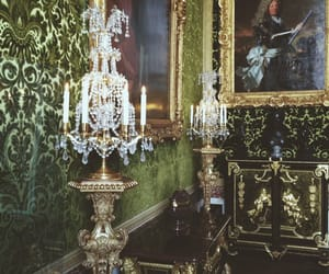 art, baroque, and green image