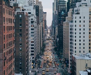 city life, inspiration, and new york city image
