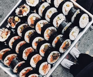 aesthetic, fish, and food image