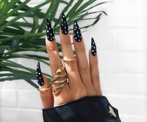 girl, nails, and nails goals image