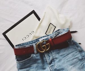 belt, fashion, and gucci image