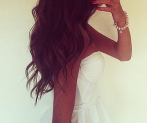 curled, curly, and beach waves image