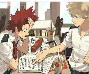 kirishima and boku no hero academia image