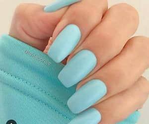 color, nails, and nailart image