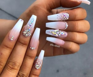 claws, rhinestones, and coffin nails image