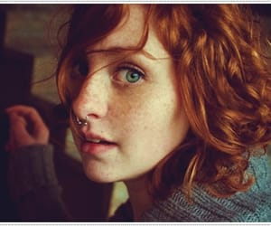 adorable, beautiful, and red hair image