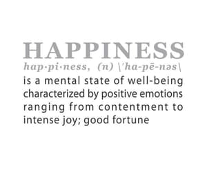 definition, happiness, and quote image