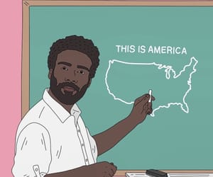 childish gambino and this is america image