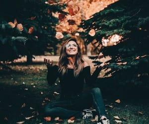autumnal, beauty, and eyewear image