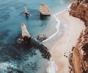 sea, beach, and travel image