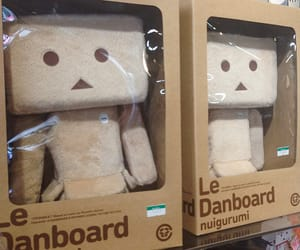pelucia, danbo, and danboard image