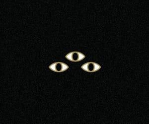 dark, Darkness, and eyes image
